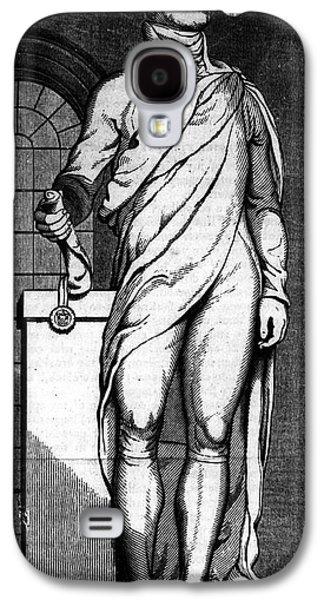 Statue Portrait Galaxy S4 Cases - Alexander Hamilton Galaxy S4 Case by Granger