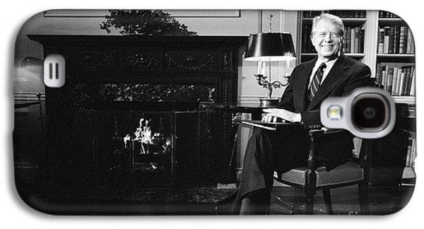 Jimmy Carter (1924- ) Galaxy S4 Case by Granger