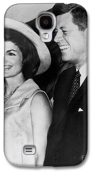 First Ladies Galaxy S4 Cases - John F Kennedy (1917-1963) Galaxy S4 Case by Granger