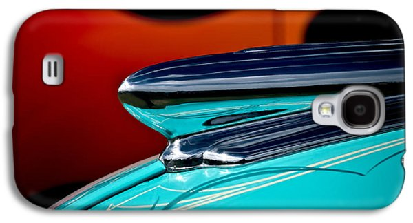 Car Mascot Digital Galaxy S4 Cases - 1948 Chevy Hood Ornament Galaxy S4 Case by Douglas Pittman