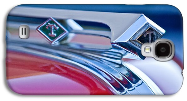 Truck Photographs Galaxy S4 Cases - 1949 Diamond T Truck Hood Ornament 3 Galaxy S4 Case by Jill Reger