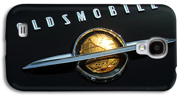 Car Abstract Photographs Galaxy S4 Cases - 1950 Oldsmobile Rocket 88 Convertible Emblem Galaxy S4 Case by Jill Reger