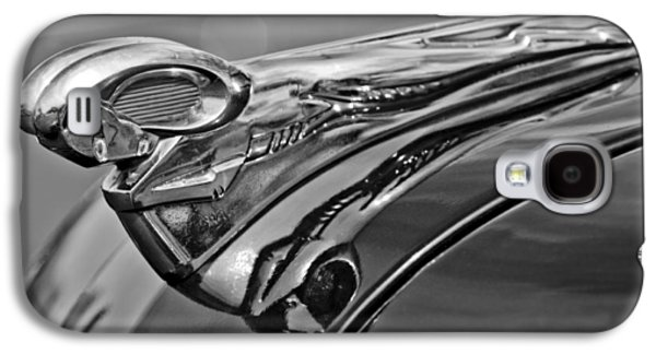 Old House Photographs Galaxy S4 Cases - 1951 Dodge Pilot House Pickup Hood Ornament 2 Galaxy S4 Case by Jill Reger