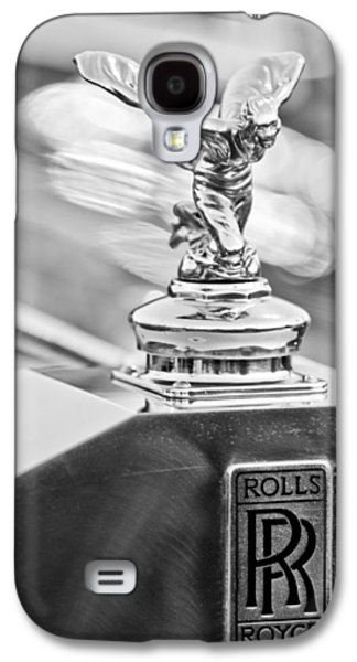 Car Photographs Galaxy S4 Cases - 1952 Rolls-Royce Silver Wraith Hood Ornament 2 Galaxy S4 Case by Jill Reger