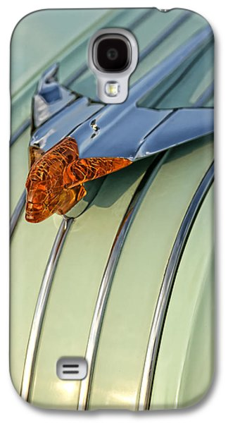 Jet Star Galaxy S4 Cases - 1954 Pontiac Chieftain Hood Ornament Galaxy S4 Case by Gordon Dean II