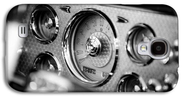 Vintage Car Photographs Galaxy S4 Cases - 1956 Packard Caribbean Dashboard Galaxy S4 Case by Sebastian Musial