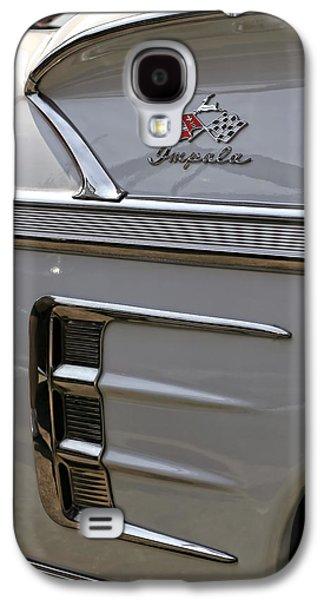 Fuzzy Digital Art Galaxy S4 Cases - 1958 Chevrolet Impala Galaxy S4 Case by Gordon Dean II