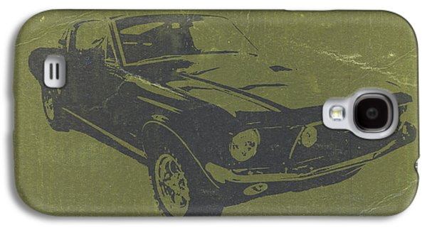 Mustang Galaxy S4 Cases - 1968 Ford Mustang Galaxy S4 Case by Naxart Studio