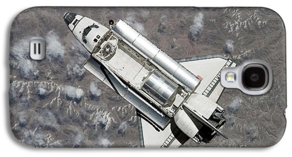 Best Sellers -  - Component Photographs Galaxy S4 Cases - Aerial View Of Space Shuttle Discovery Galaxy S4 Case by Stocktrek Images