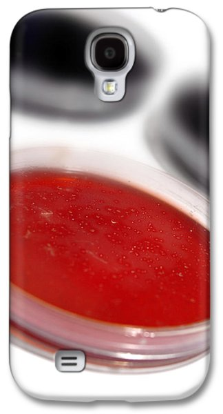 Microbiological Galaxy S4 Cases - Bacterial Culture Galaxy S4 Case by Crown Copyrighthealth & Safety Laboratory