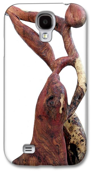 Abstracts Sculptures Galaxy S4 Cases - Bailando 3 Galaxy S4 Case by Jorge Berlato