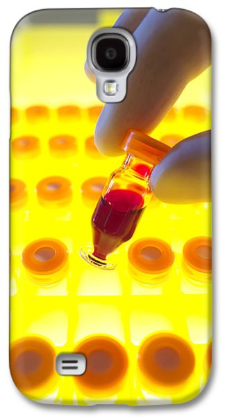 Component Photographs Galaxy S4 Cases - Blood Sample Testing Galaxy S4 Case by Tek Image