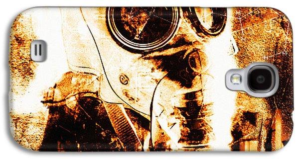 Terrorism Galaxy S4 Cases - Chemical Warfare Galaxy S4 Case by Mehau Kulyk