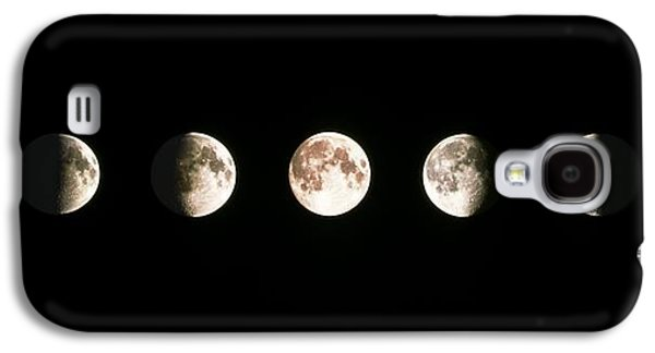 Moon Galaxy S4 Cases - Composite Image Of The Phases Of The Moon Galaxy S4 Case by John Sanford
