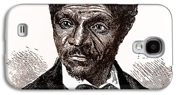 Slavery Galaxy S4 Cases - Dred Scott, African-american Hero Galaxy S4 Case by Photo Researchers