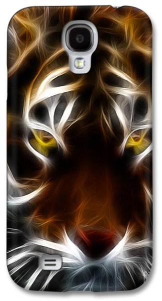 The Tiger Galaxy S4 Cases - Eye of The Tiger Galaxy S4 Case by Wingsdomain Art and Photography