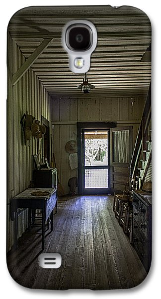 Ladder Back Chairs Galaxy S4 Cases - Farmhouse Entry Hall and Stairs Galaxy S4 Case by Lynn Palmer