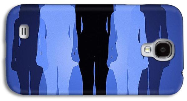 Psychiatry Galaxy S4 Cases - Female Identity, Conceptual Image Galaxy S4 Case by Victor De Schwanberg