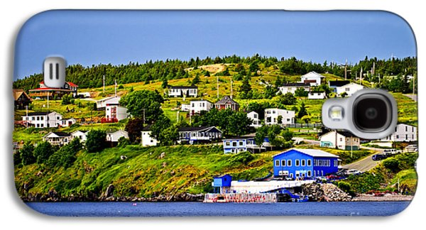 Small Towns Galaxy S4 Cases - Fishing village in Newfoundland Galaxy S4 Case by Elena Elisseeva