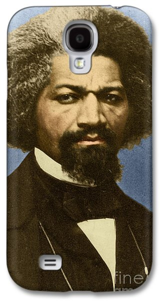Reformer Galaxy S4 Cases - Frederick Douglass African-american Galaxy S4 Case by Photo Researchers