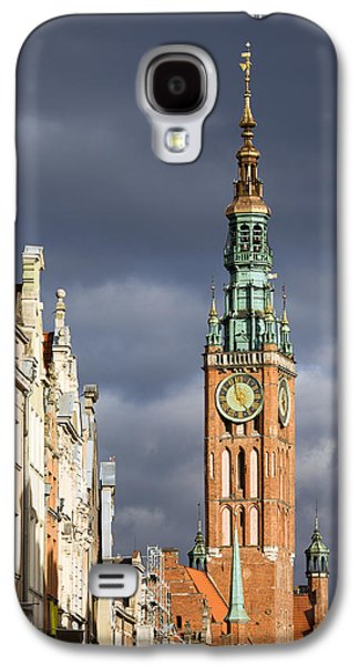 Polish Culture Galaxy S4 Cases - Gdansk Old Town Galaxy S4 Case by Artur Bogacki
