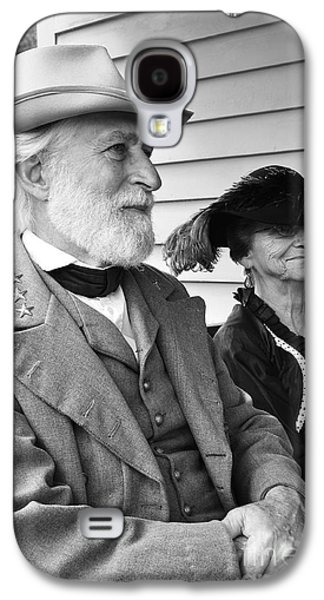 Civil War Battle Site Galaxy S4 Cases - General Lee and Mary Custis Lee Galaxy S4 Case by Thomas R Fletcher