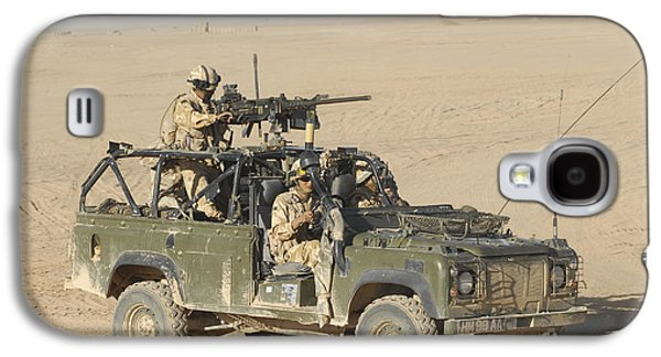 Brigade Galaxy S4 Cases - Gurkhas Patrol Afghanistan In A Land Galaxy S4 Case by Andrew Chittock
