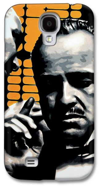 Francis Ford Coppola Galaxy S4 Cases - I Want You To Kill him Galaxy S4 Case by Luis Ludzska