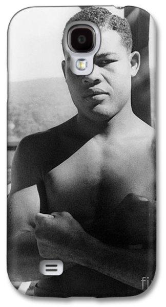Boxer Galaxy S4 Cases - Joe Louis (1914-1981) Galaxy S4 Case by Granger