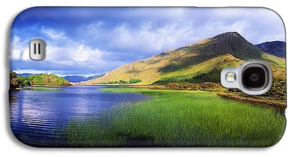 Monasticism Galaxy S4 Cases - Kylemore Lake, Co Galway, Ireland Lake Galaxy S4 Case by The Irish Image Collection