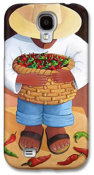 Diego Rivera Galaxy S4 Cases - Pepper Boy Galaxy S4 Case by Lance Headlee