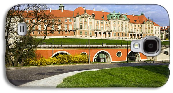 Polish Culture Galaxy S4 Cases - Royal Castle in Warsaw Galaxy S4 Case by Artur Bogacki