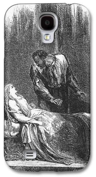 Desdemona Galaxy S4 Cases - Shakespeare: Othello Galaxy S4 Case by Granger