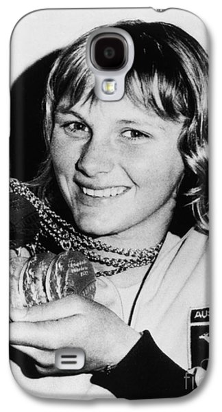 Press Conference Photographs Galaxy S4 Cases - Shane Gould (1956- ) Galaxy S4 Case by Granger