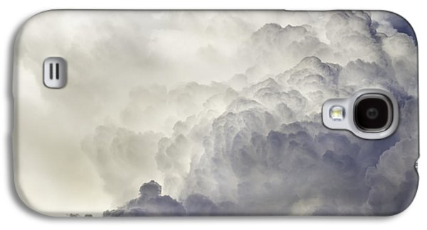 Abstract Forms Photographs Galaxy S4 Cases - Storm Clouds and Thunder Heads Before Rain Storm Fine Art Print Galaxy S4 Case by Keith Webber Jr