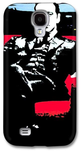 Drama Galaxy S4 Cases - The Godfather Galaxy S4 Case by Luis Ludzska