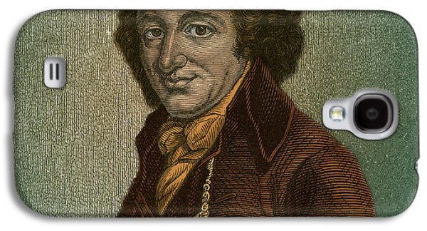 Rights Of Man Galaxy S4 Cases - Thomas Paine, American Patriot Galaxy S4 Case by Photo Researchers
