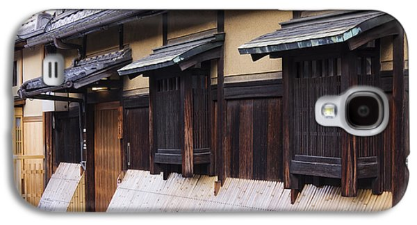 Bamboo House Galaxy S4 Cases - Traditional Japanese House Galaxy S4 Case by Jeremy Woodhouse