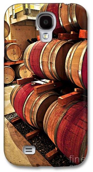 Vintner Galaxy S4 Cases - Wine barrels Galaxy S4 Case by Elena Elisseeva