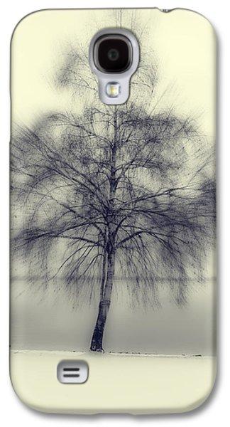 Snowy Evening Galaxy S4 Cases - Winter Tree Galaxy S4 Case by Joana Kruse