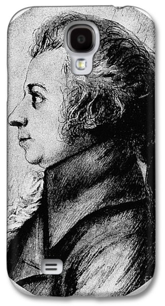 Wolfgang Amadeus Mozart Galaxy S4 Case by Granger