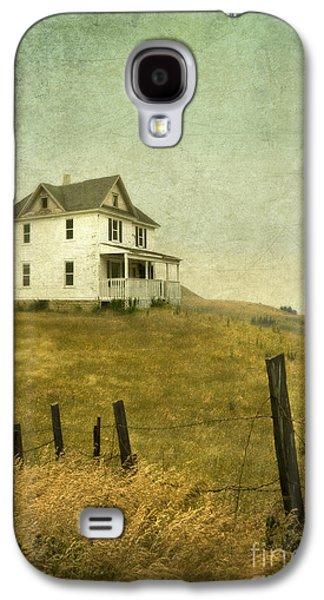 Home Improvement Galaxy S4 Cases - Abandoned Farmhouse Galaxy S4 Case by Jill Battaglia
