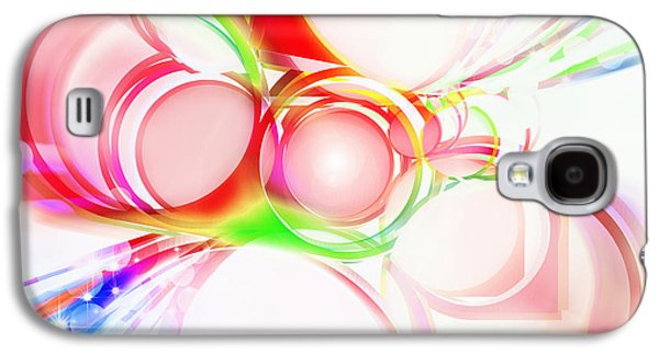 Torn Galaxy S4 Cases - Abstract Of Circle  Galaxy S4 Case by Setsiri Silapasuwanchai