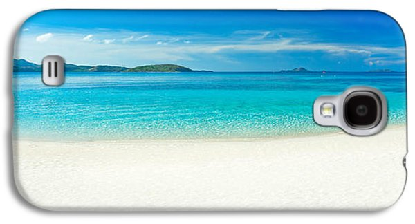 Waterscape Galaxy S4 Cases - Beach panorama Galaxy S4 Case by MotHaiBaPhoto Prints