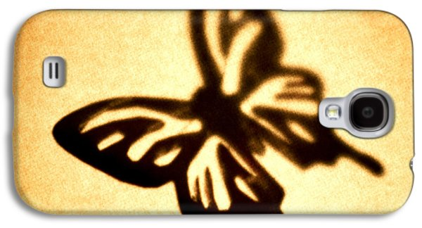 Brown Tones Galaxy S4 Cases - Butterfly Galaxy S4 Case by Tony Cordoza