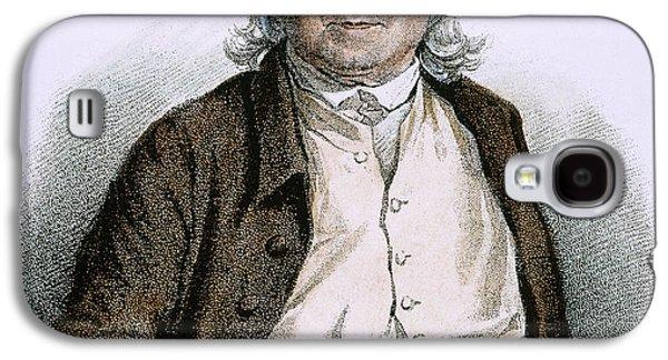 Jeremy Galaxy S4 Cases - Jeremy Bentham (1748-1832) Galaxy S4 Case by Granger