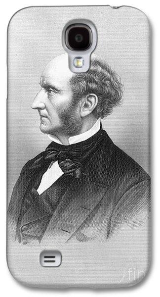 Sideburns Galaxy S4 Cases - John Stuart Mill Galaxy S4 Case by Granger