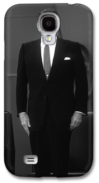 Ronald Reagan Galaxy S4 Cases - President Ronald Reagan Galaxy S4 Case by War Is Hell Store
