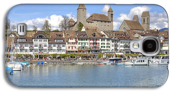 Castle Photographs Galaxy S4 Cases - Rapperswil Galaxy S4 Case by Joana Kruse