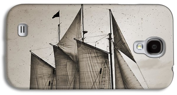 Tall Ship Galaxy S4 Cases - Schooner Pride Tall Ship Charleston SC Galaxy S4 Case by Dustin K Ryan